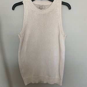 Sleeveless summer sweater